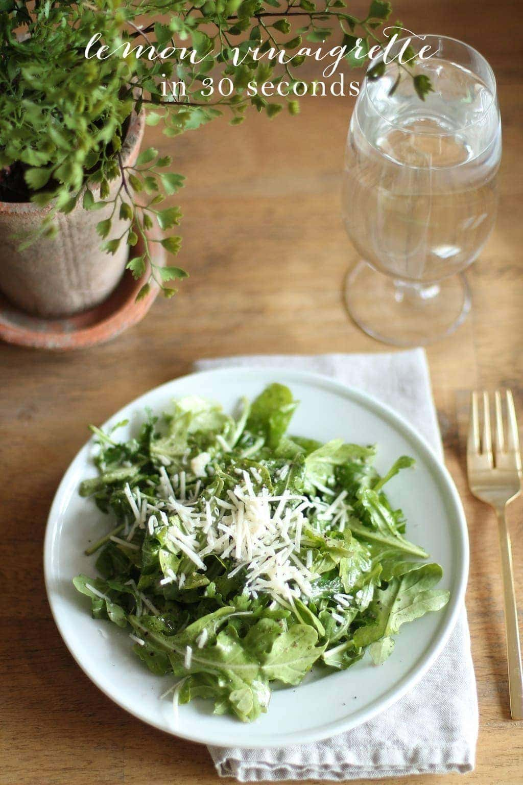 Summer Side Salad | Lemon Vinaigrette - Julie Blanner entertaining ...