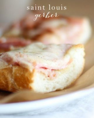 Get the recipe for the famous Gerber sandwich which originated in St. Louis