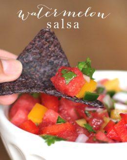 Refreshing & flavorful watermelon salsa recipe