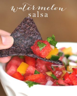 Refreshing & flavorful watermelon salsa recipe