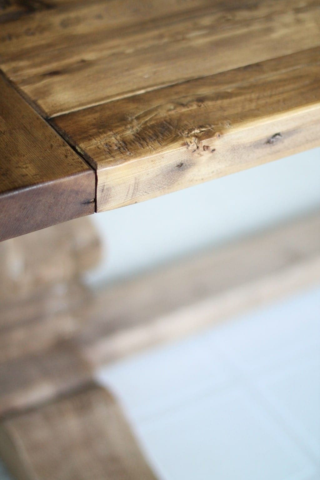 Farmhouse table restoration hardware - Should You Purchase Build Or Find A Harvest Farm Table