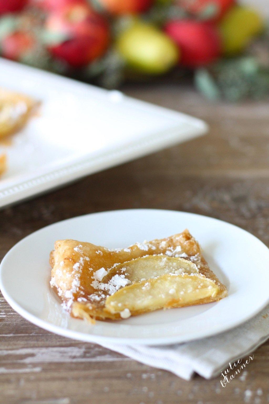 5 minute skinny apple tart recipe easy fall dessert for Easy recipe for desserts