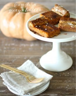 Step aside, pumpkin pie! Pumpkin Gooey Butter Cake is a 10 minute fall favorite!