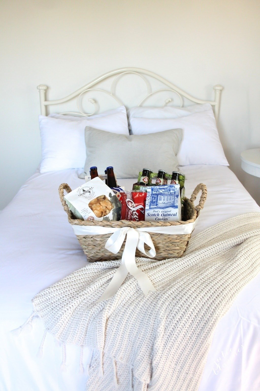 Welcome gift basket idea