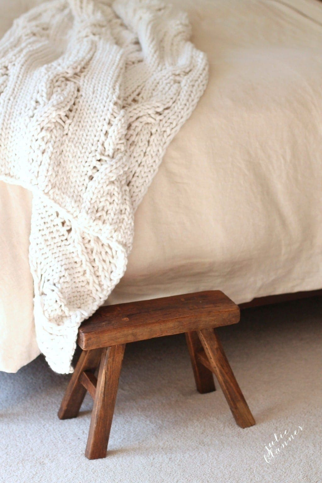 cozy your home up for winter with a chunky throw