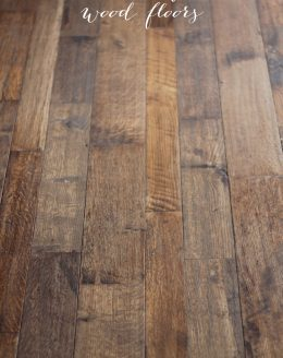 How to discover if you have wood floors - great tips for purchasing a home!
