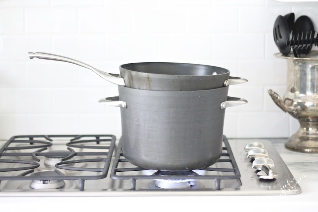 How to create a double boiler | Easy double boiler substitute