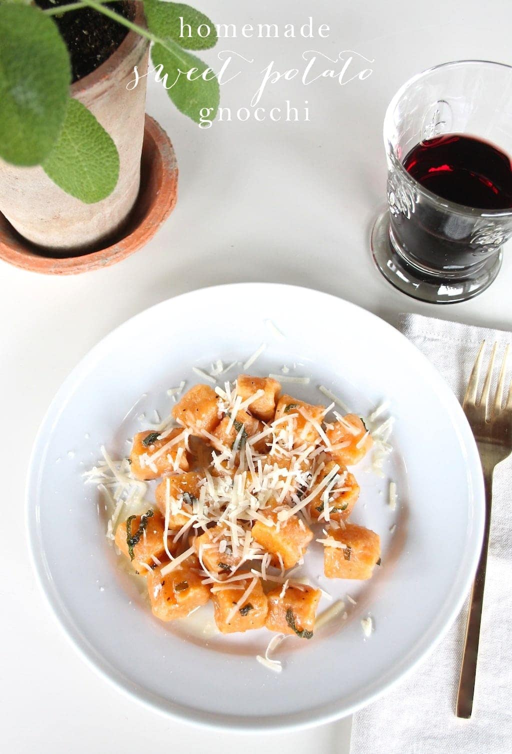 Easy homemade sweet potato gnocchi recipe
