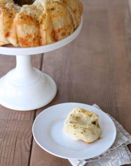 5 Minute Dinner Rolls - Easy Garlic Cheese Bread Recipe