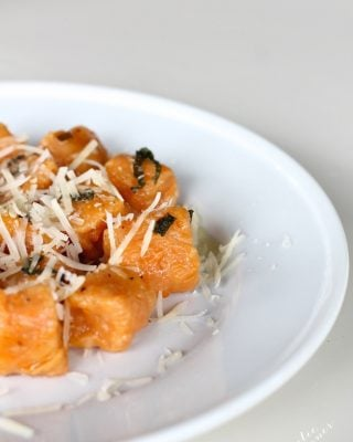 Pillows of Heaven   Easy Homemade Sweet Potato Gnocchi in a browned butter sage sauce