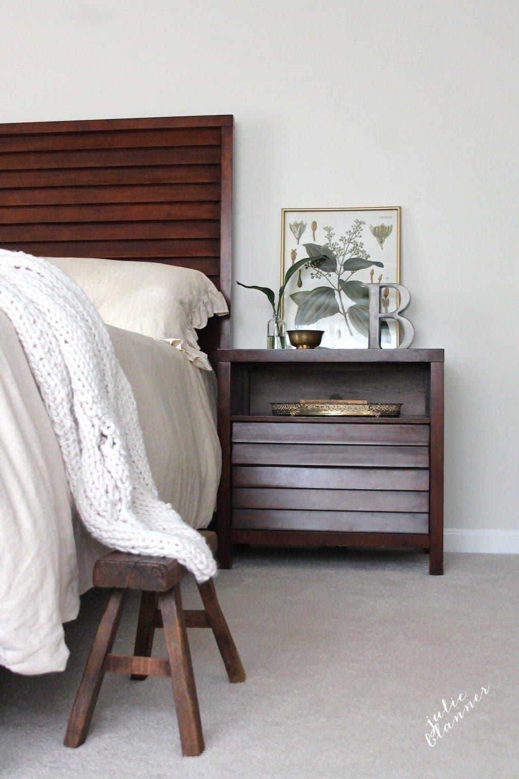 Master bedroom art & accents