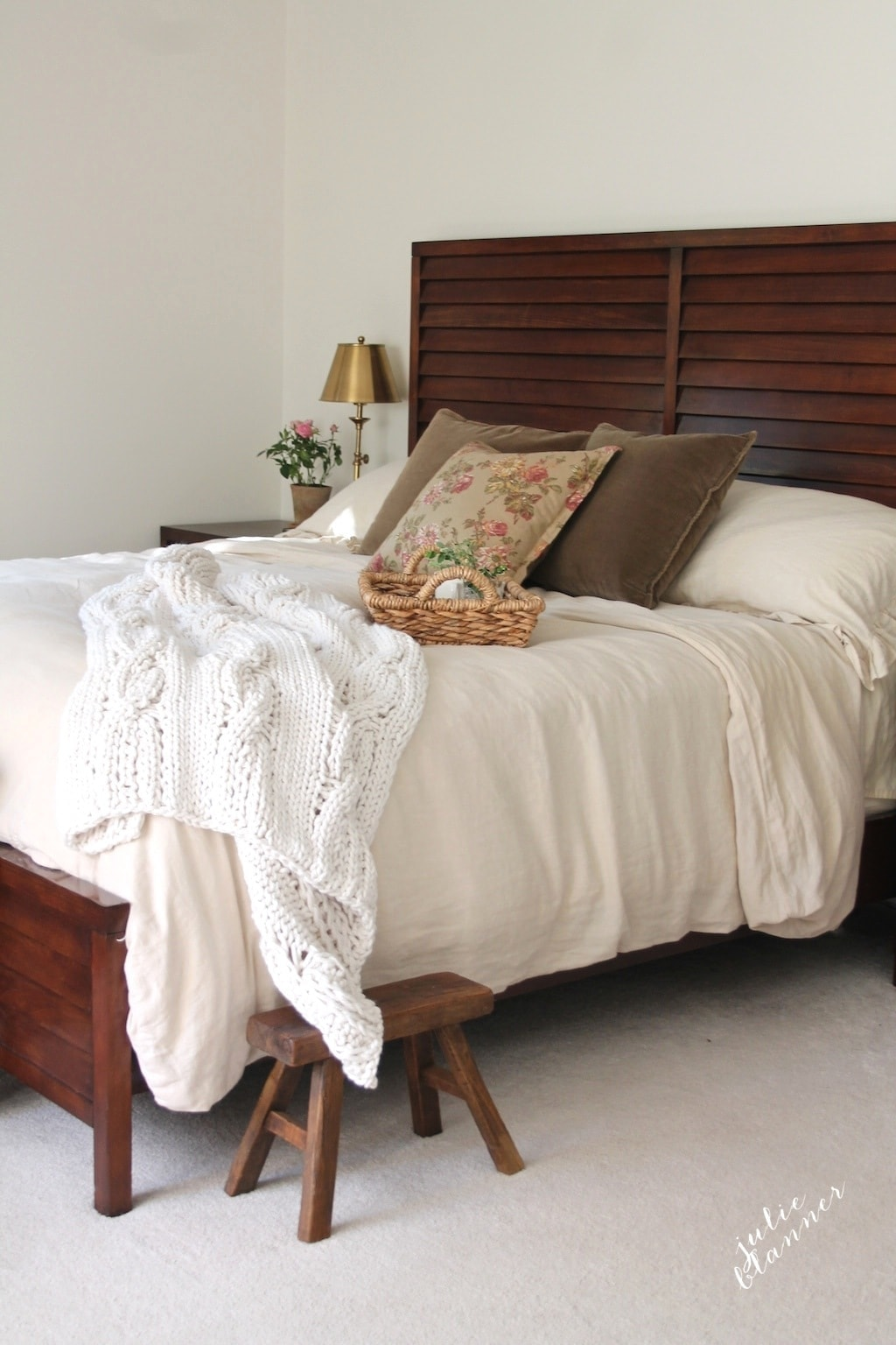 Master bedroom refresh - making the most from what you have, adding accents
