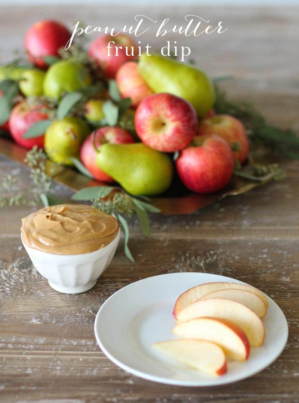 healthy breakfast with fruit fruit dip recipe