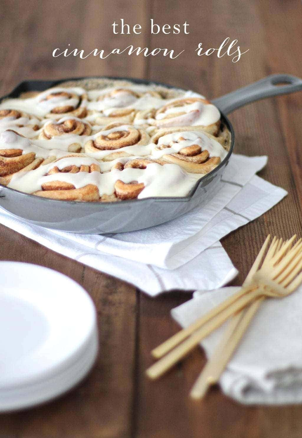 Better than the Bakery Cinnamon Rolls Recipe