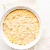 Corn Casserole (Cheesy Corn)