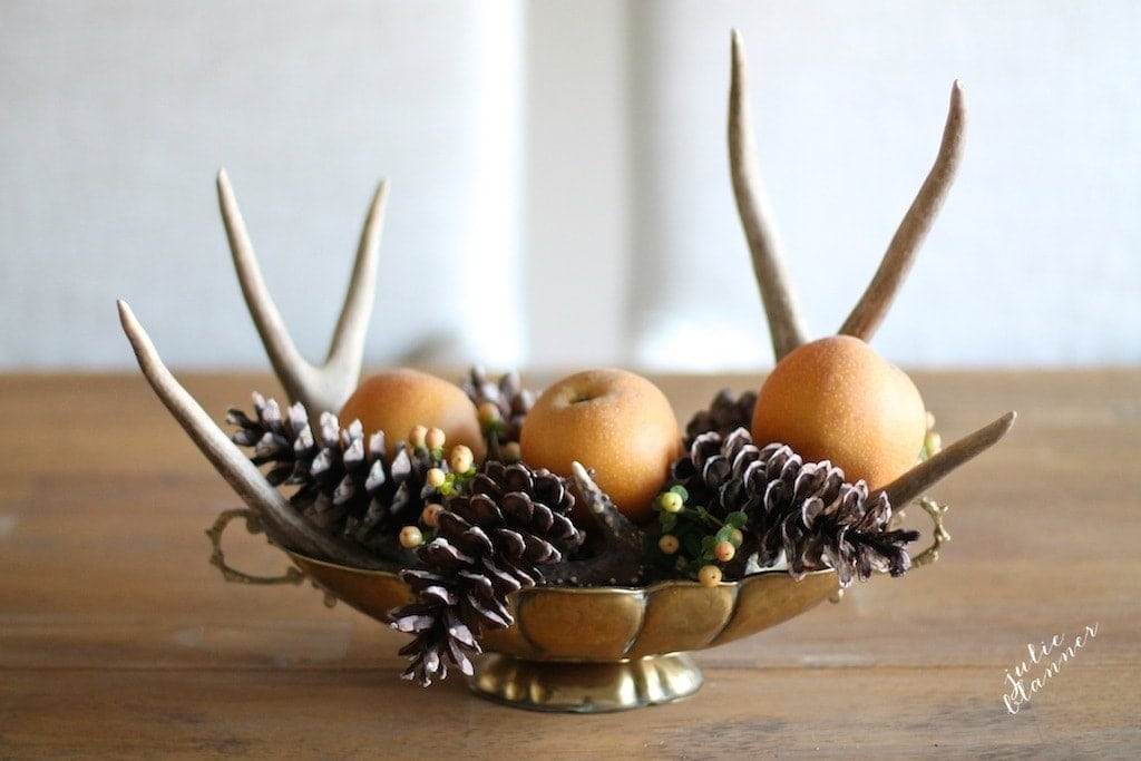 Easy to do yourself, homemade Thanksgiving centerpiece