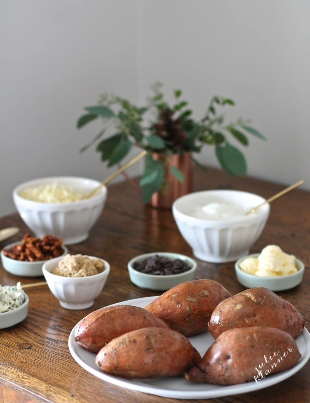 Sweet Potato Bar | Easy holiday entertaining idea!