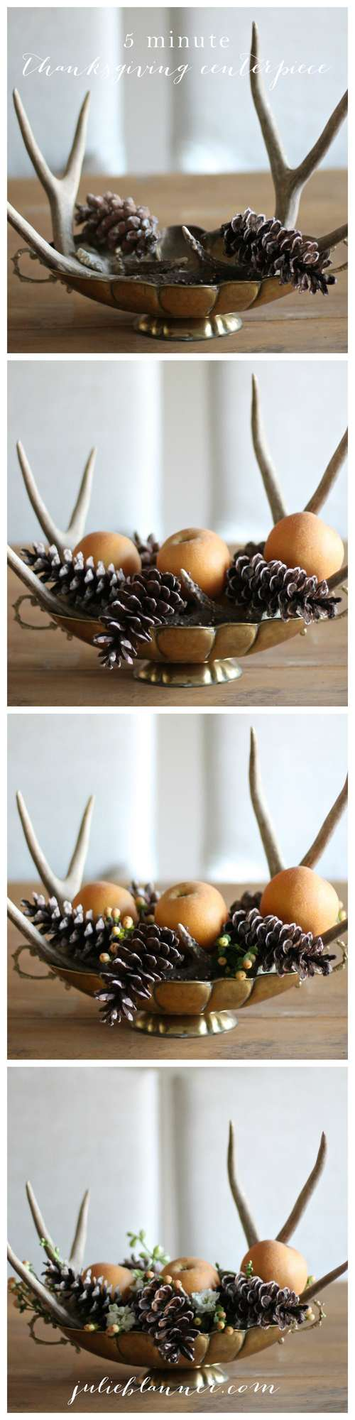 5 Minute Thanksgiving Centerpiece Tutorial