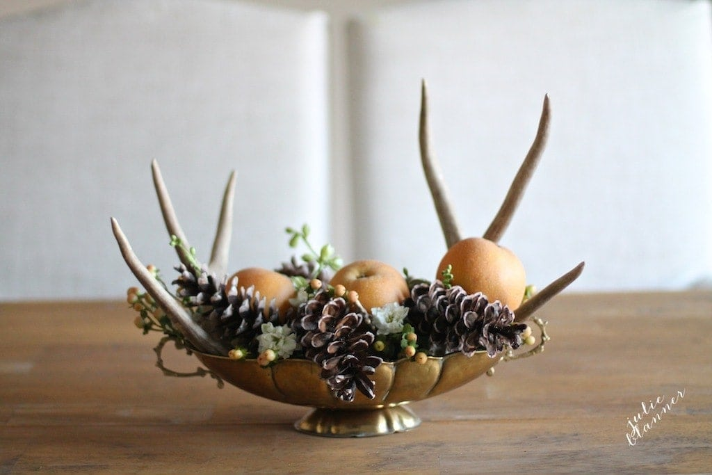 Cheap and Homemade Thanksgiving Centerpiece