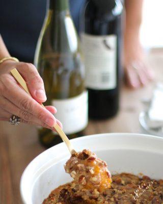 10 minute Sweet Potato Casserole recipe - a famous Thanksgiving side dish