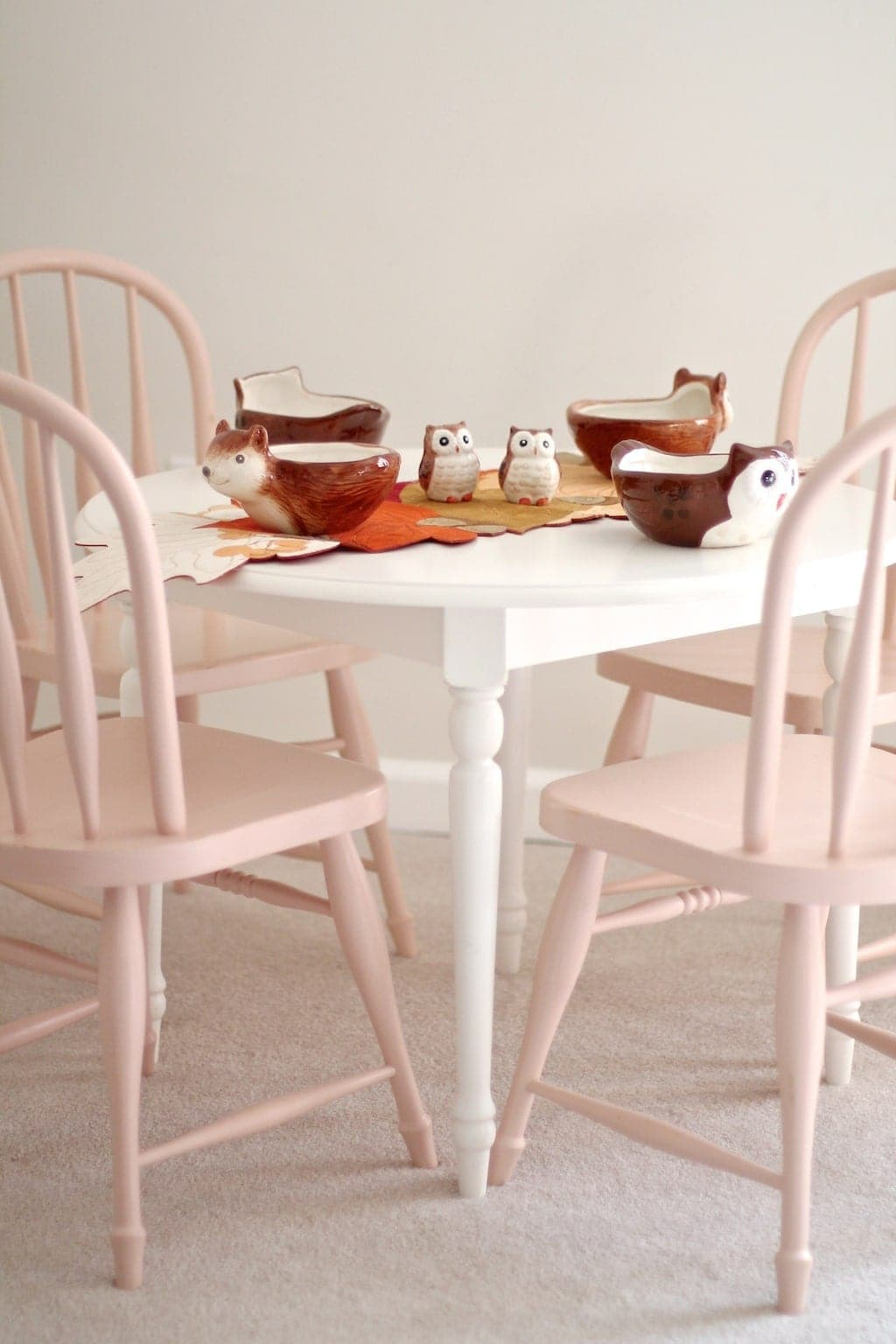 Make the kids' dining table one of a kind.