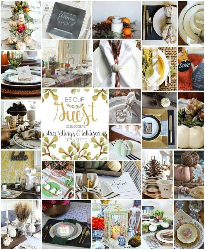 25 Thanksgiving Table Settings