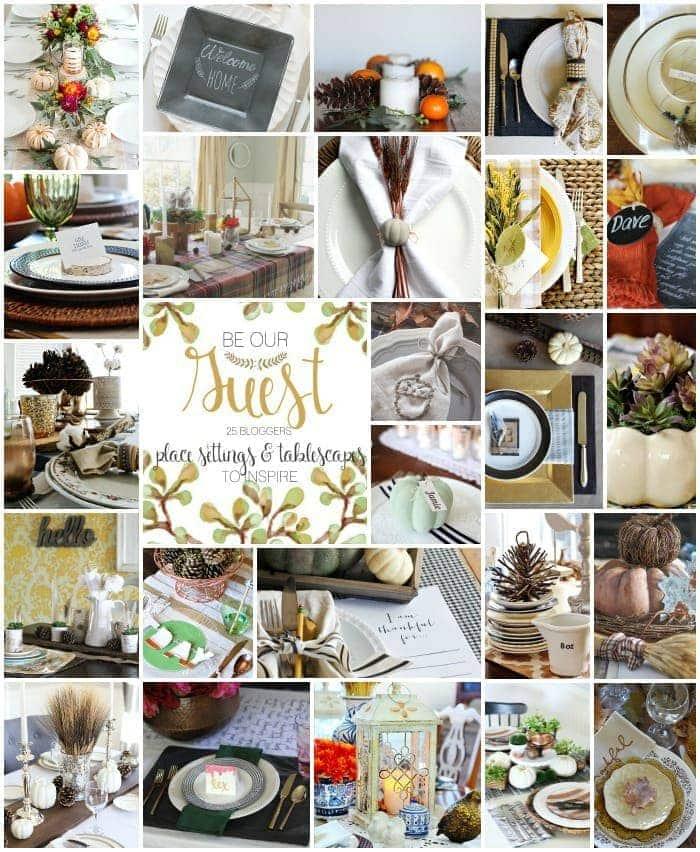 25 Thanksgiving Table Settings