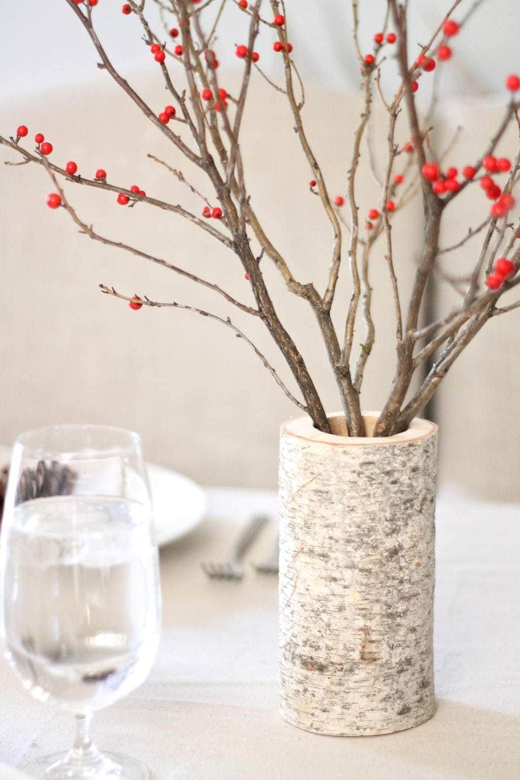 Berry & Birch Table Setting