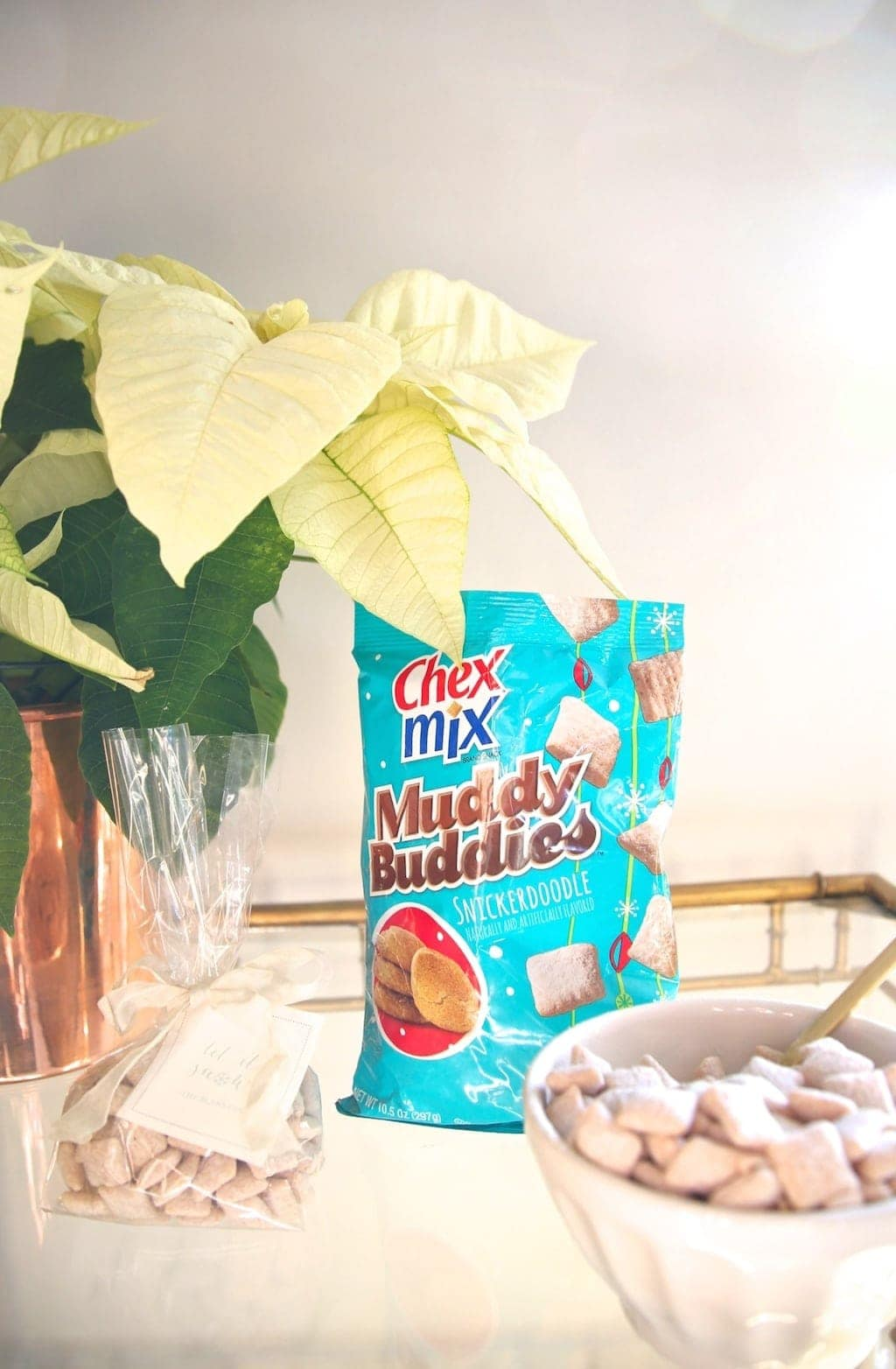 Chex Mix Muddy Buddies - tastes like homemade without the effort