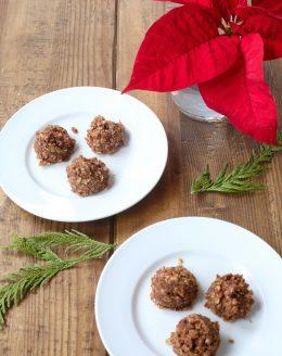 Easy Chocolate & Oatmeal no bake cookie recipe