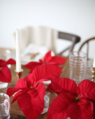 Southern Living Christmas entertaining & table setting from entertaining expert Julie Blanner