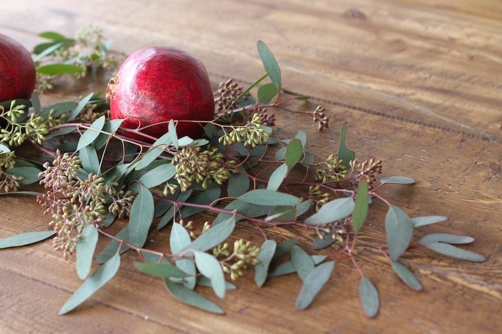 Get the recipe to create a stunning Christmas centerpiece in just 5 minutes