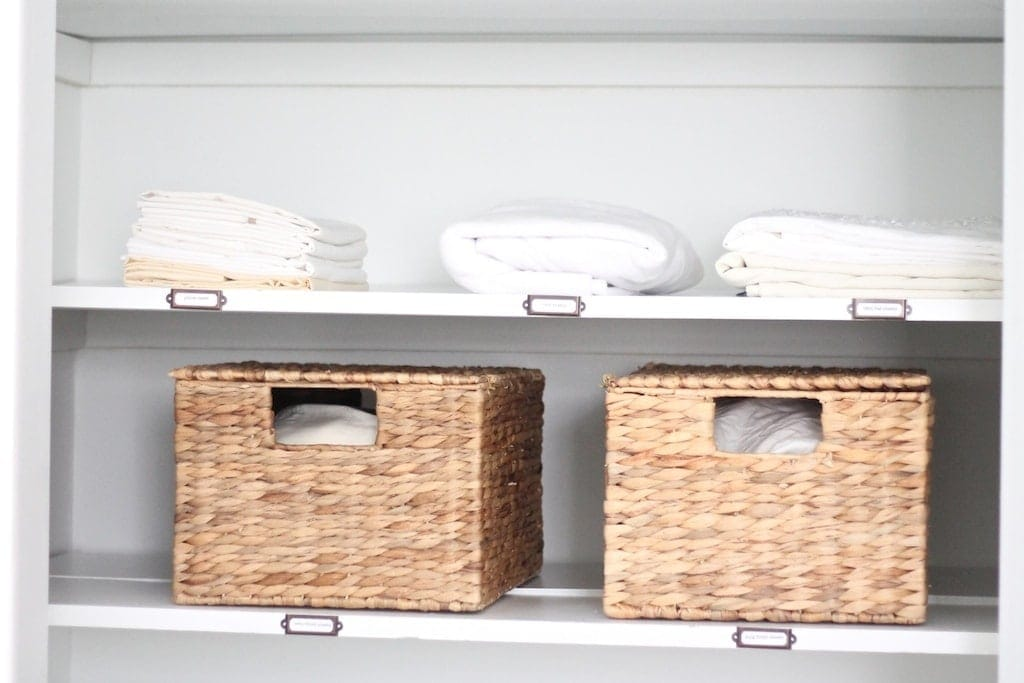organize your closet with these simple ideas - Linen Closet