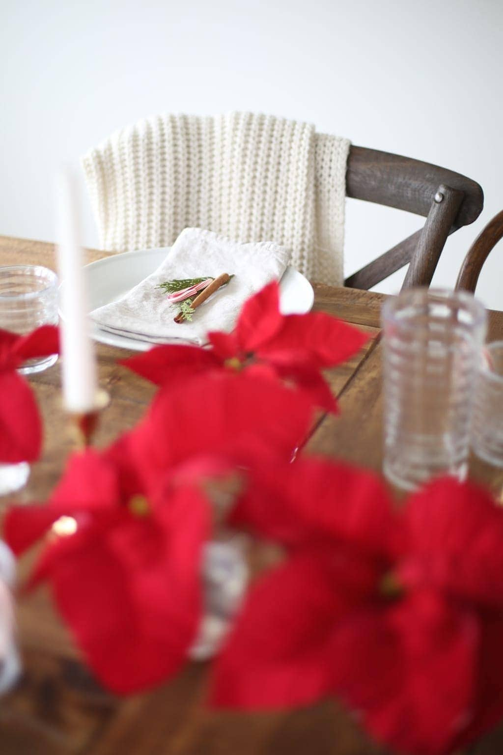 Christmas Poinsettia Centerpiece Recipe