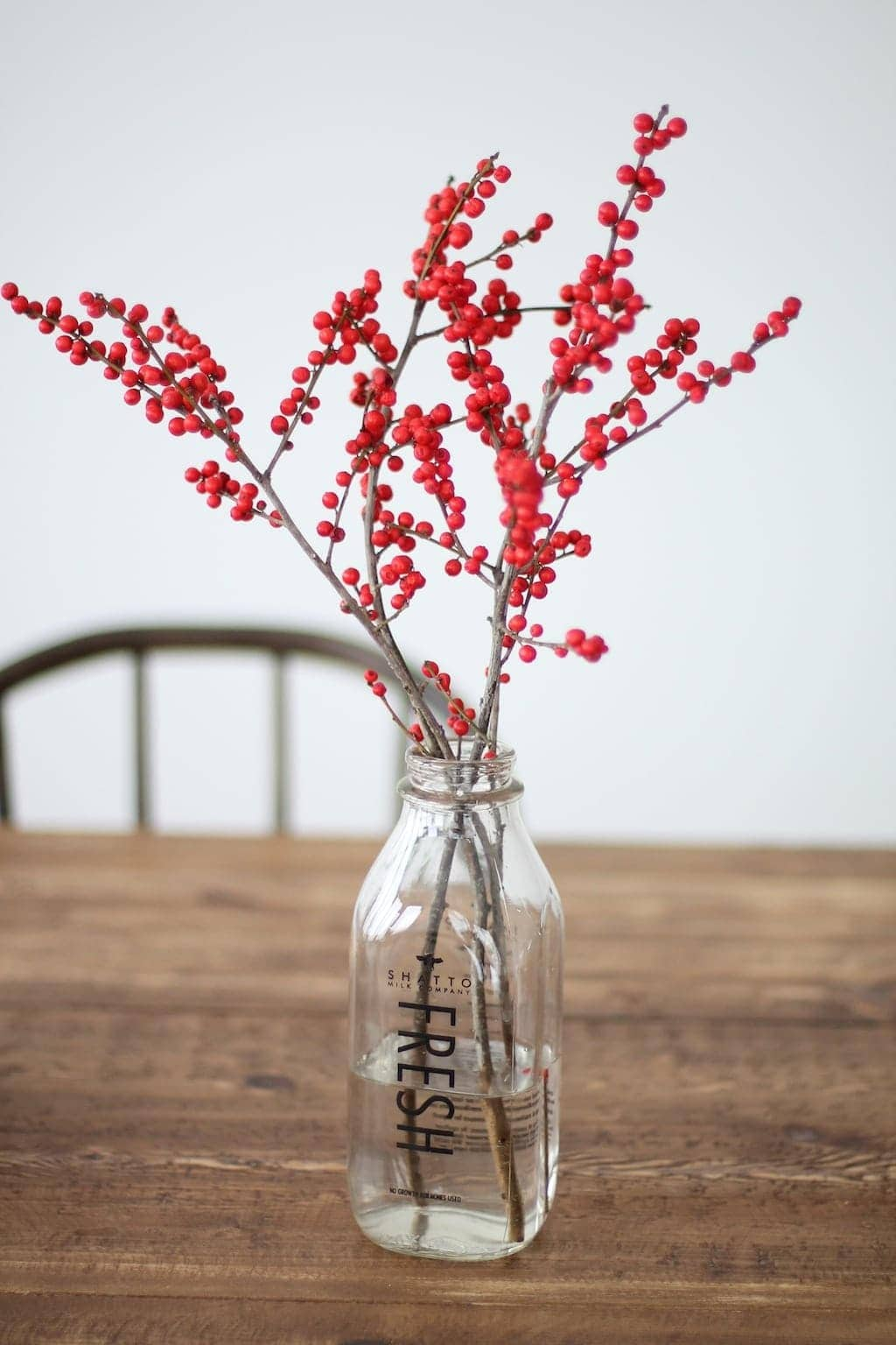 Easy Christmas centerpiece tutorial