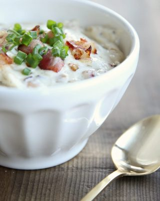 Creamy bacon cheese dip recipe - a great SuperBowl appetizer