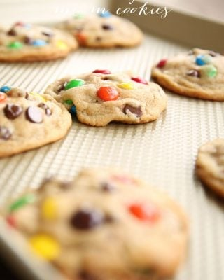 Unbelievably amazing bakery M&M cookies - get the tips for the best cookies