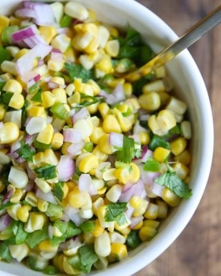 A copycat Chipotle Corn Salsa Recipe