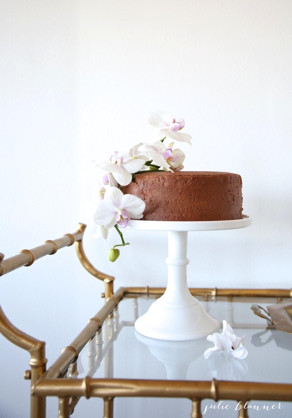 DIY cake flowers