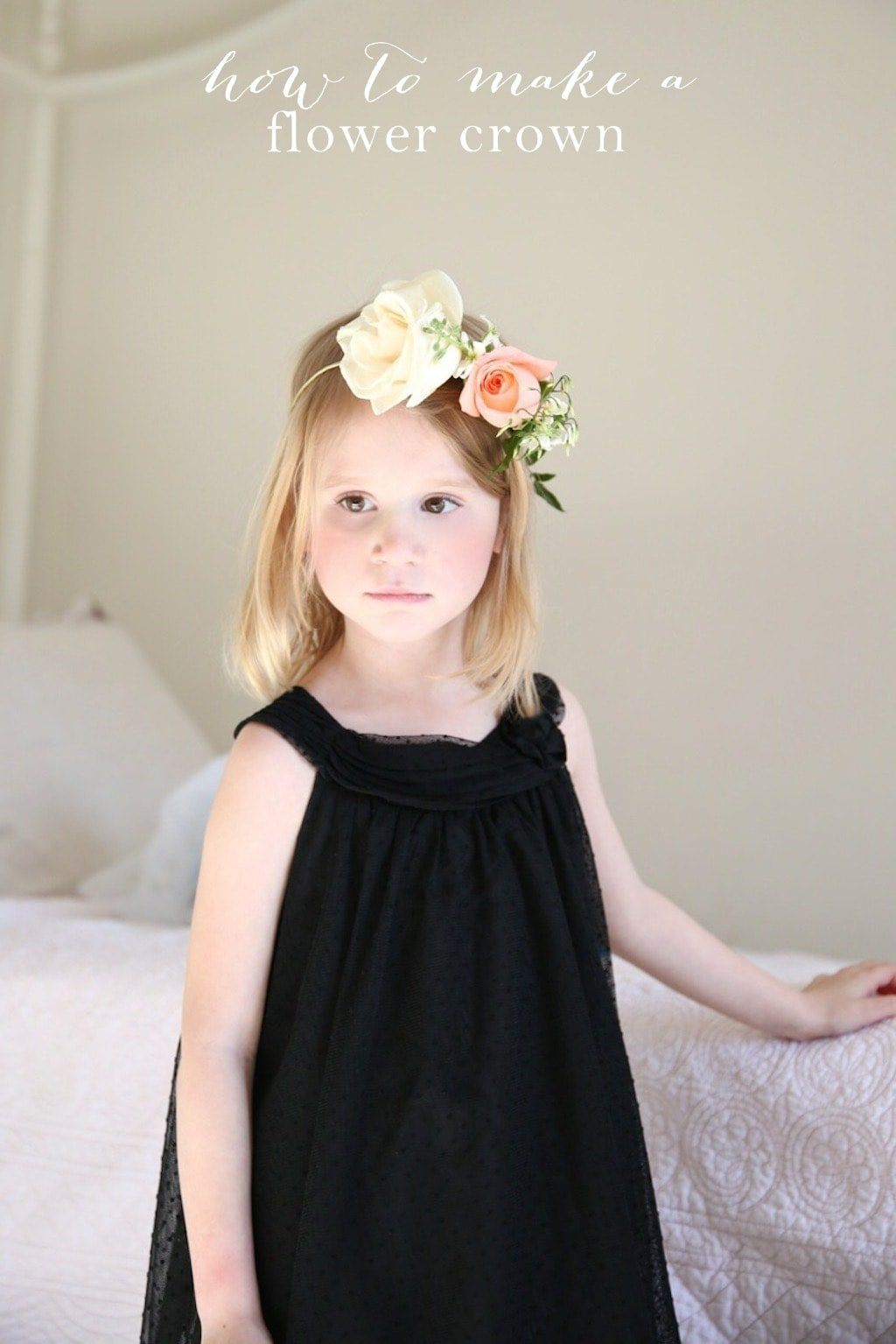 Diy flower crown tutorial diy flower crown izmirmasajfo