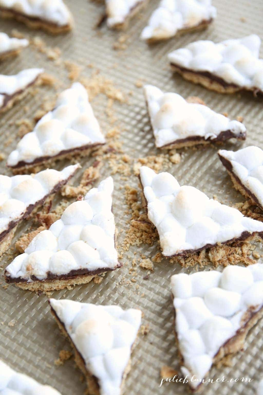 Unbelievably good s'mores toffee recipe
