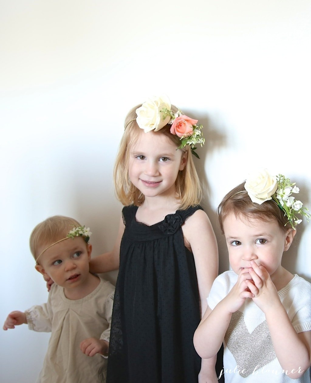 Beautiful idea for photos - flower crowns