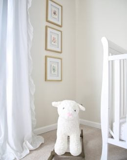 Easy & inexpensive ideas for a beautiful nursery
