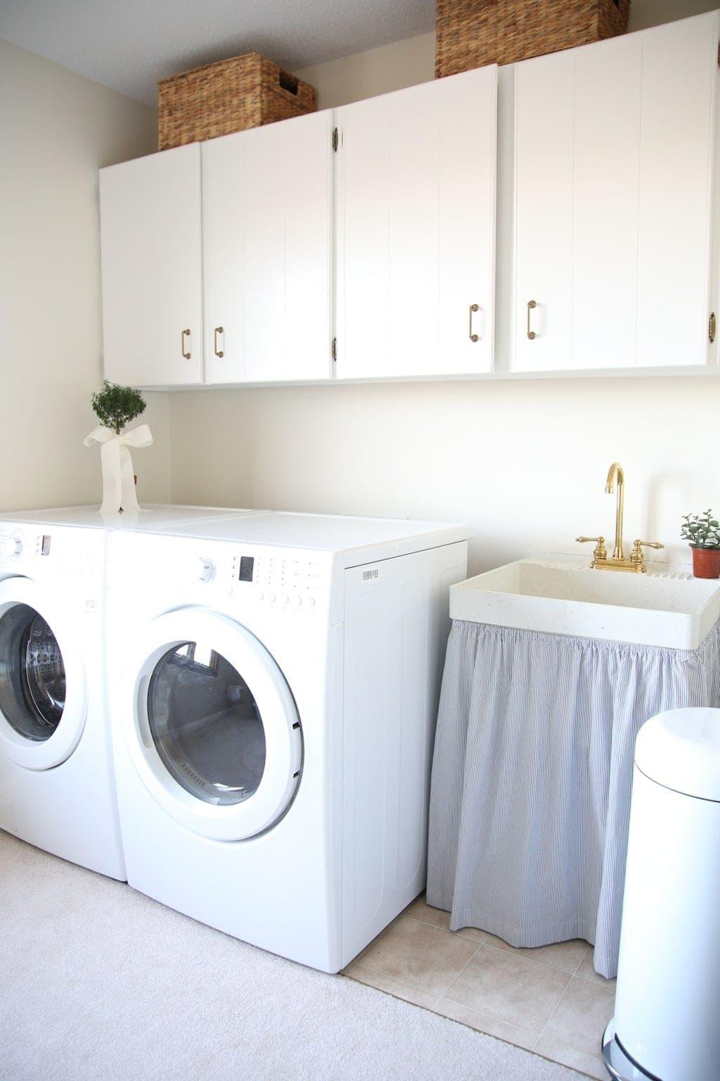 Small Laundry Room Decor