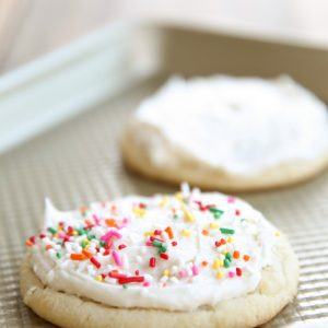 Bakery style melt in your mouth iced sugar cookies