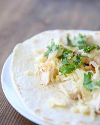 Unbelievably good chicken taco recipe!