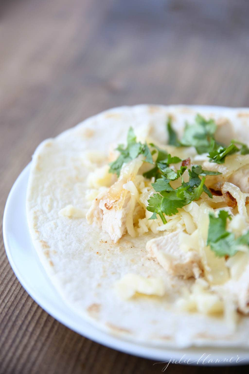 Unbelievably good chicken taco recipe!
