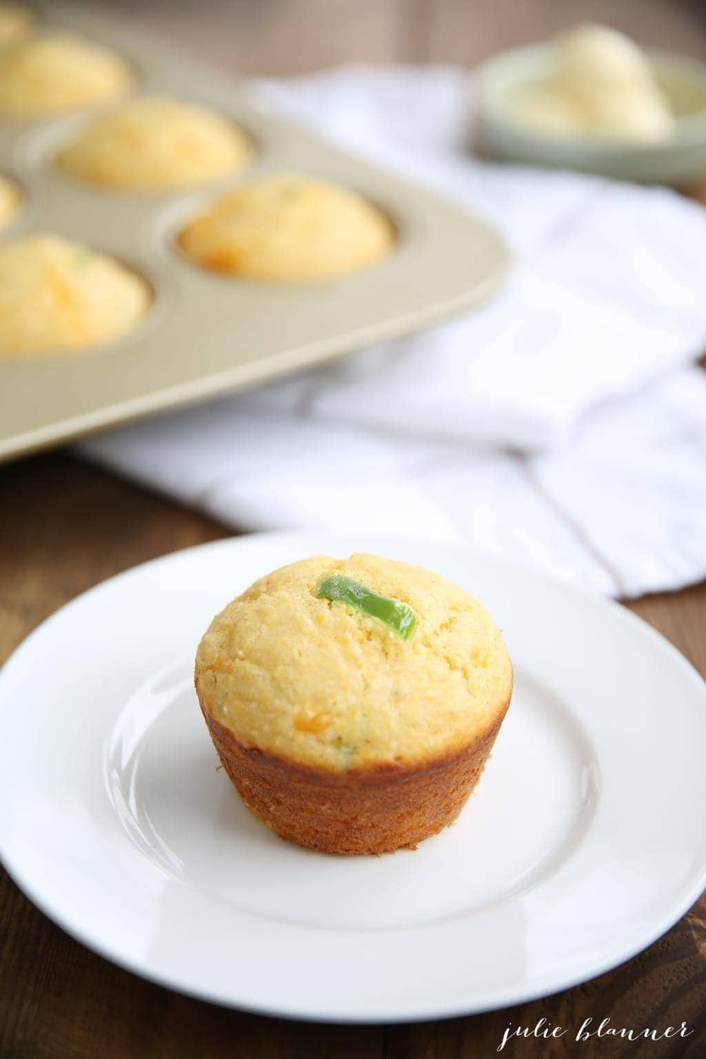 Easy made-from-scratch cornbread in less time than it takes to preheat the oven!