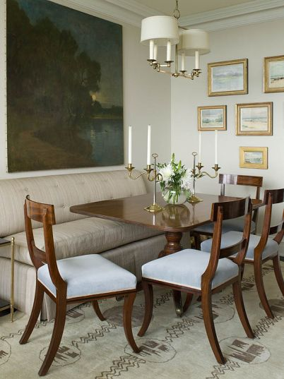dining room art - designed by Phoebe Howard