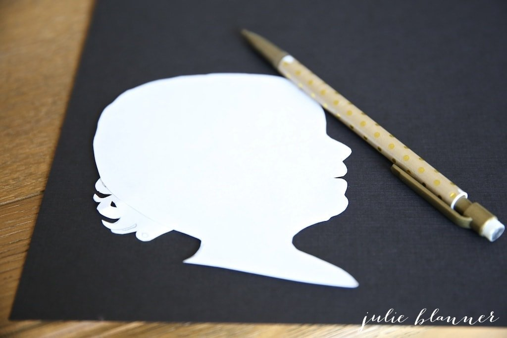 How to make a silhouette in minutes - create your own custom art with this easy tutorial